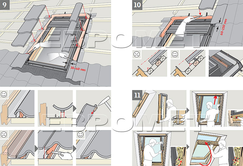 Мансардные окна инструкция по монтажу