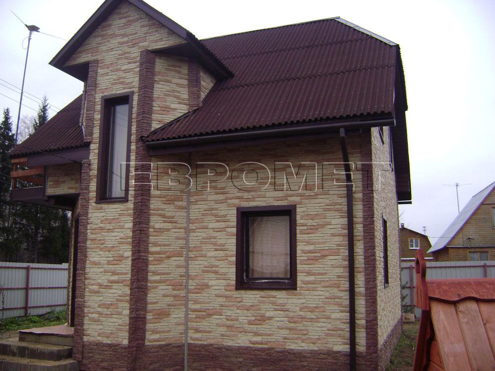 Цокольный сайдинг  домов