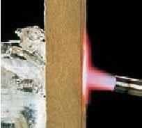 Тестирование продукции Paroc на горючесть при 1000 С